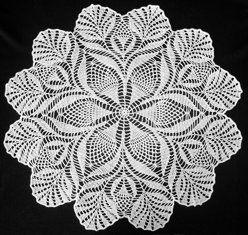 Free Japanese Crochet Doily Patterns : August 2013 Confessions of a Widow