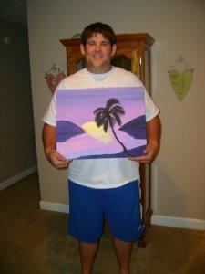 Drew's tropical sunset